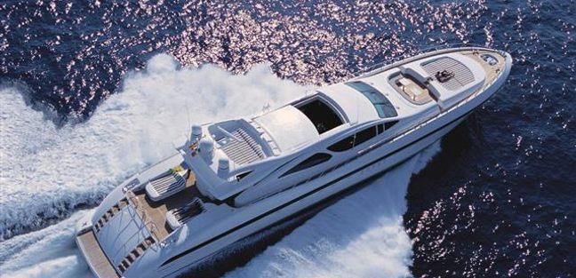 Mangusta 130/21 Charter Yacht - 2