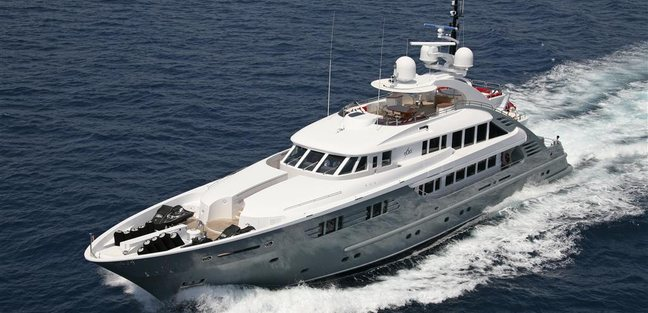 Lady MM Charter Yacht