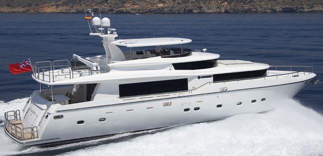 Maren Di Ponza Charter Yacht