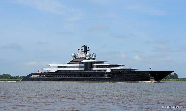 Exclusive: 135m Lurssen superyacht CRESCENT (ex-Project