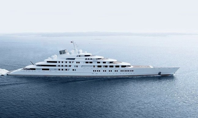 World S Largest Yacht Azzam Delivered Yacht Charter Fleet