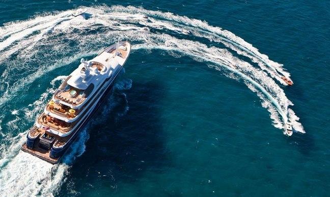 Superyacht CAKEWALK Confirmed for Monaco Yacht Show 2014