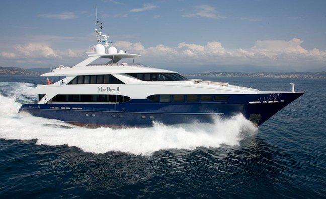 Mac Brew Charter Yacht