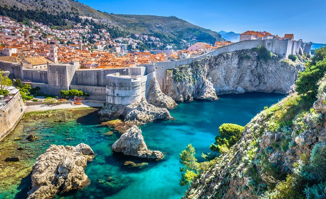 Yacht charter destination of Dubrovnik