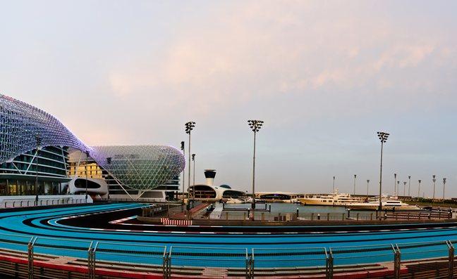 Yas Marina Formula 1 circuit
