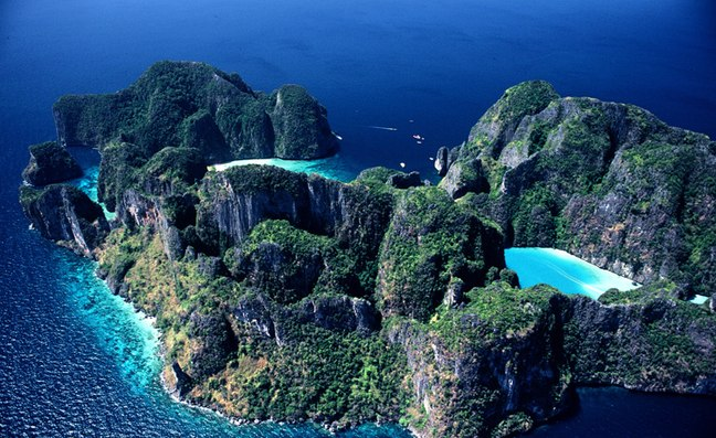 Thailand lagoon