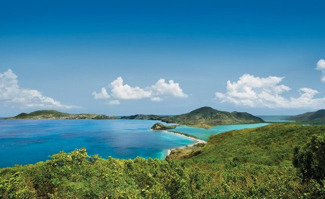 St Kitts in the Caribbean