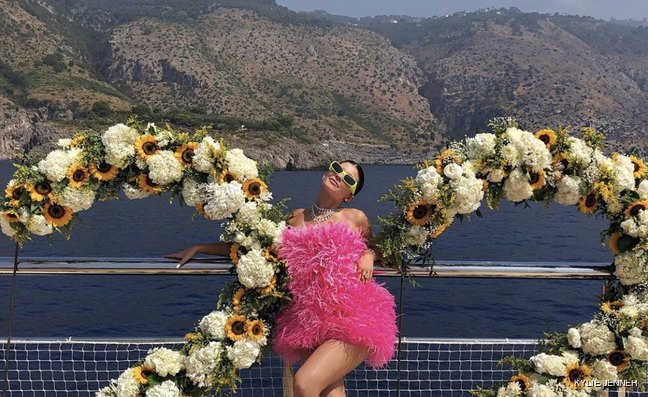 Kylie Jenner shares snaps of her birthday yacht charter in the Mediterranean