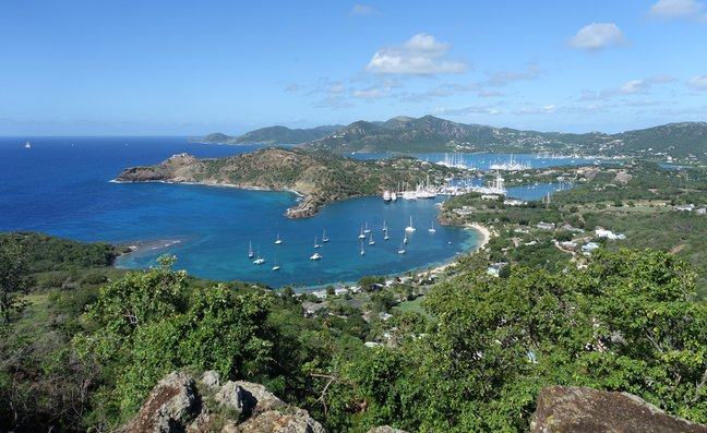 View from Antigua's Shirley Heights