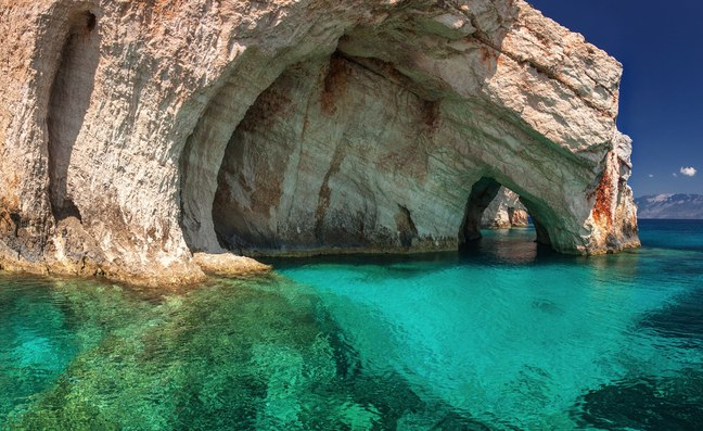 5 amazing blue caves you have to visit during a superyacht charter In Greece