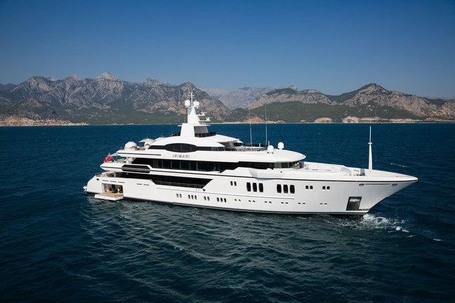 IRIMARI Yacht Charter Price - Sunrise Yachts Luxury Yacht Charter