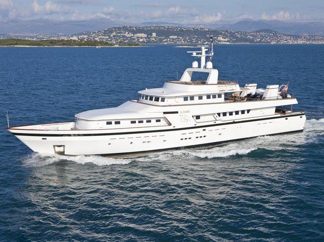 Il Cigno Charter Yacht