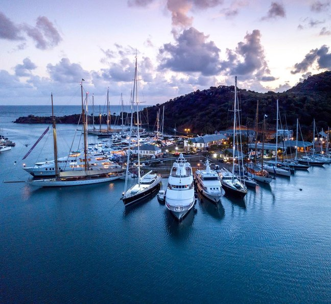 Image result for image antigua charter yacht show