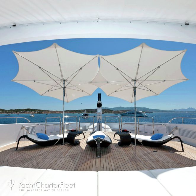 Bow Deck - Loungers