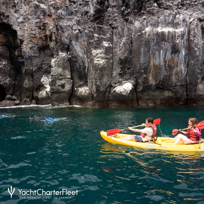 Kayaking and Snorkeling