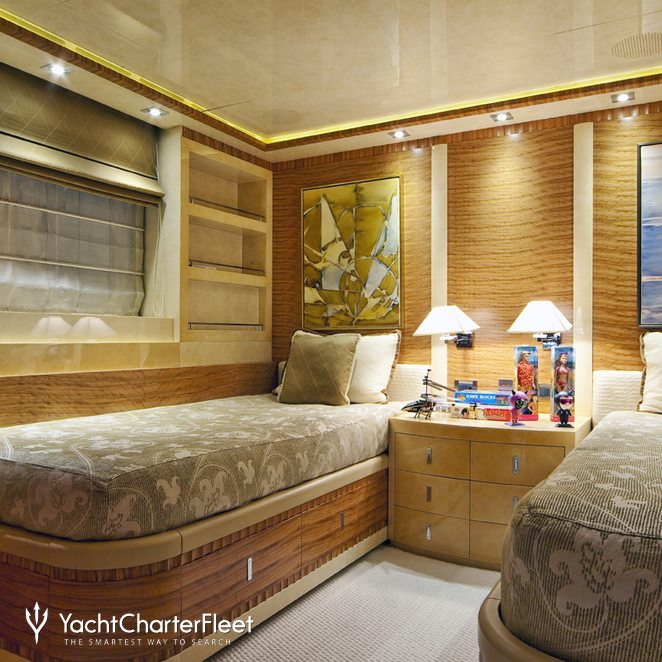 First Twin Stateroom