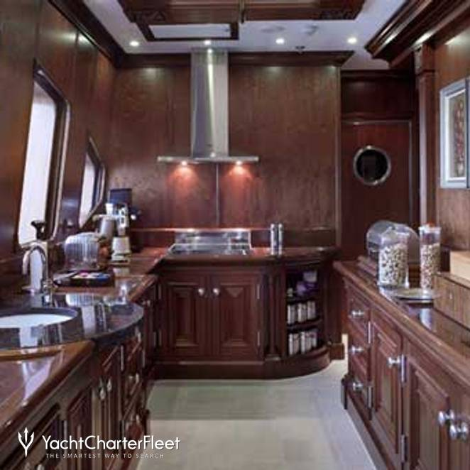 Upper Deck Galley