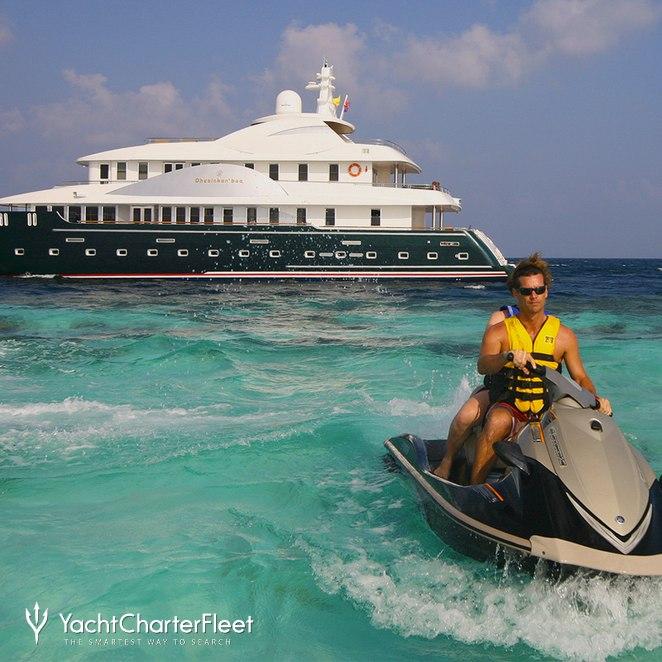 Yacht with Jet Ski