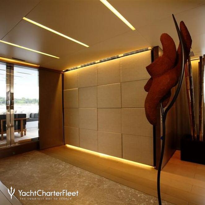 Hallway - View to Aft Deck
