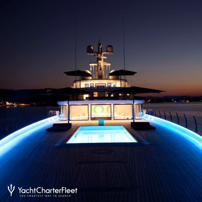 Foredeck at Night