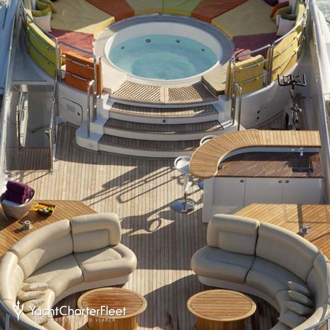 Aerial View - Jacuzzi & Seating