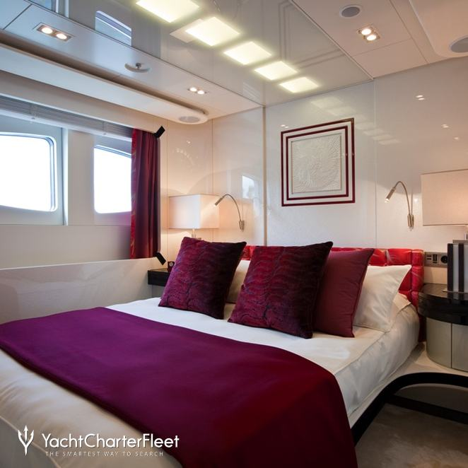 Red Guest Stateroom