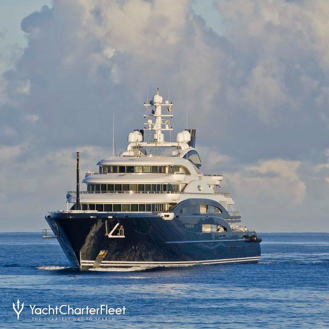 Serene Yacht Photos 134m Luxury Motor Yacht For Charter