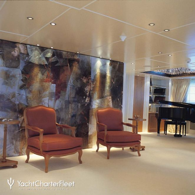 Main Salon - Seating & Piano