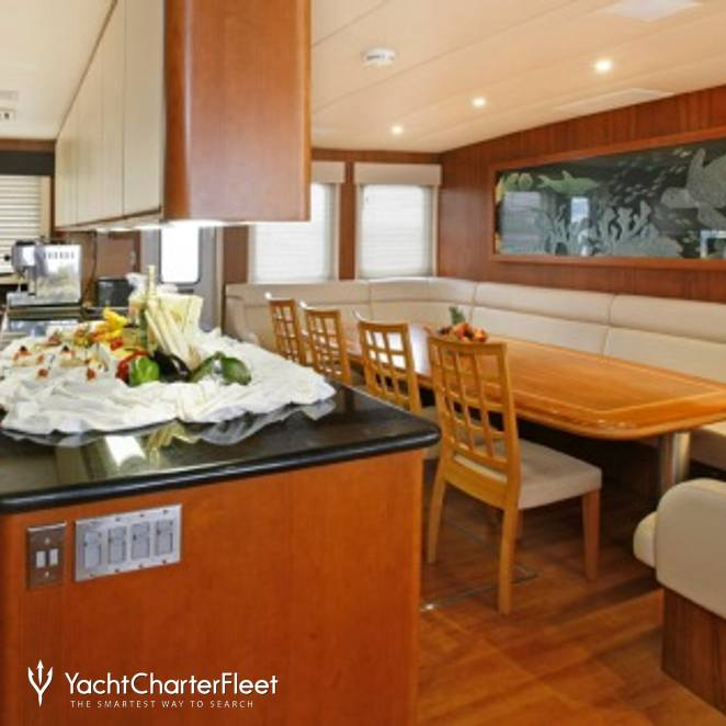 Dining Table & Galley