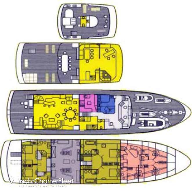 Scout IIDeck plan layouts photo 15