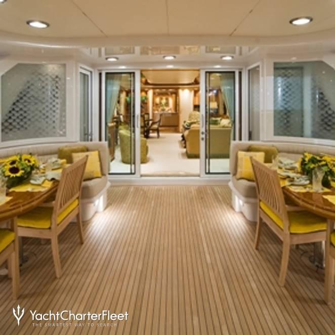 Aft Deck and Salon
