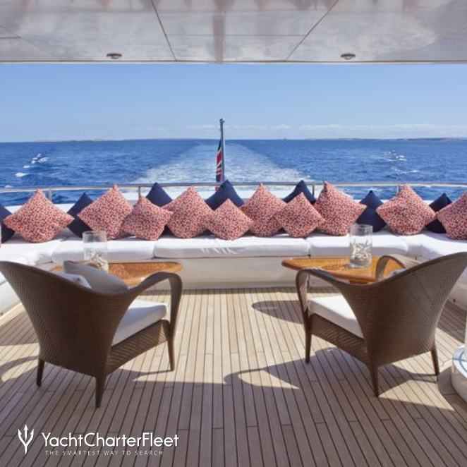 Upper Aft Deck Seating