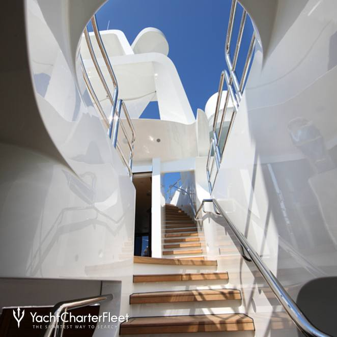 View up Staircase