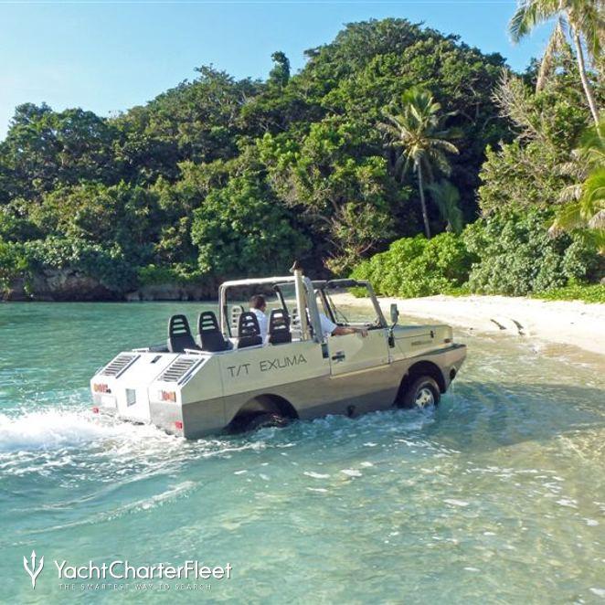 Amphibious Jeep Landing