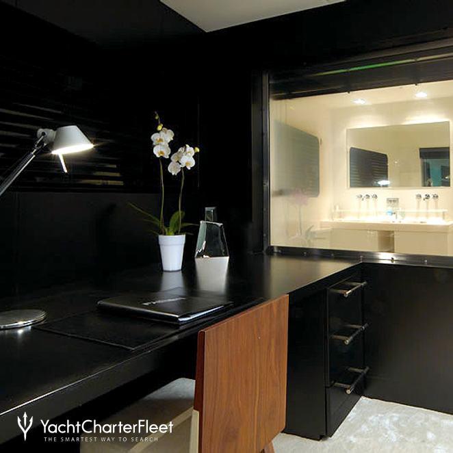 Master Stateroom Office/Bathroom