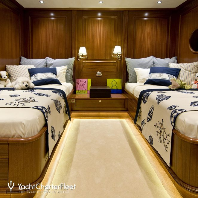 Twin Stateroom - Overview