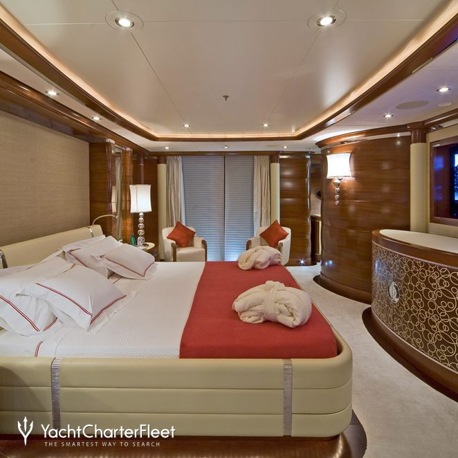 Red Guest Stateroom - Side