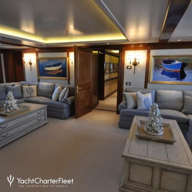 Boat Deck Lounge Cinema