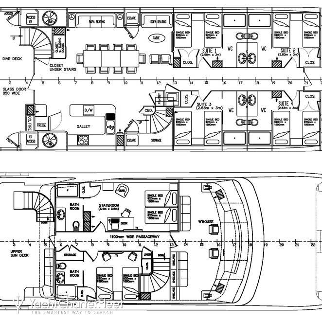 Pegasus IXDeck plan layouts photo 41