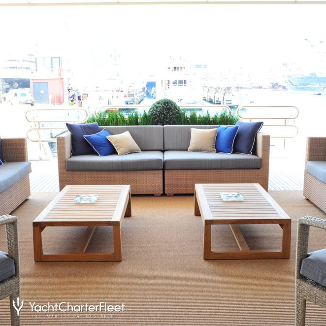 Outdoor Seating Aft Deck