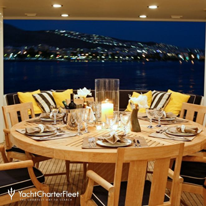 Main Deck Dining - Night