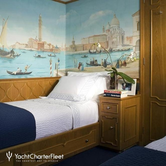 Twin Stateroom - Blue