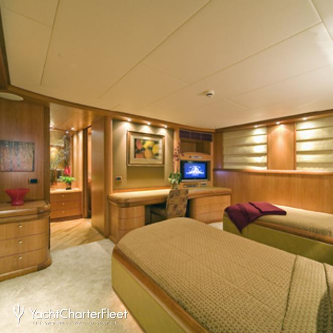 Twin Stateroom - Side View