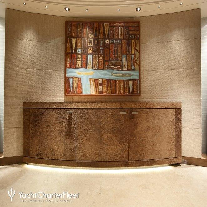 Hallway - Scuptures & Artwork