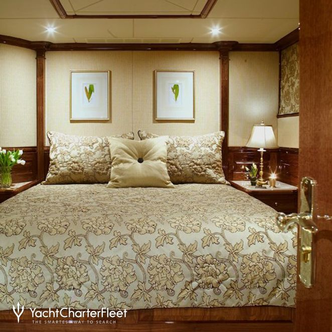 White Guest Stateroom