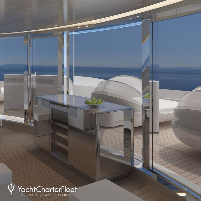Additional Seating Attached To The Wellness Deck