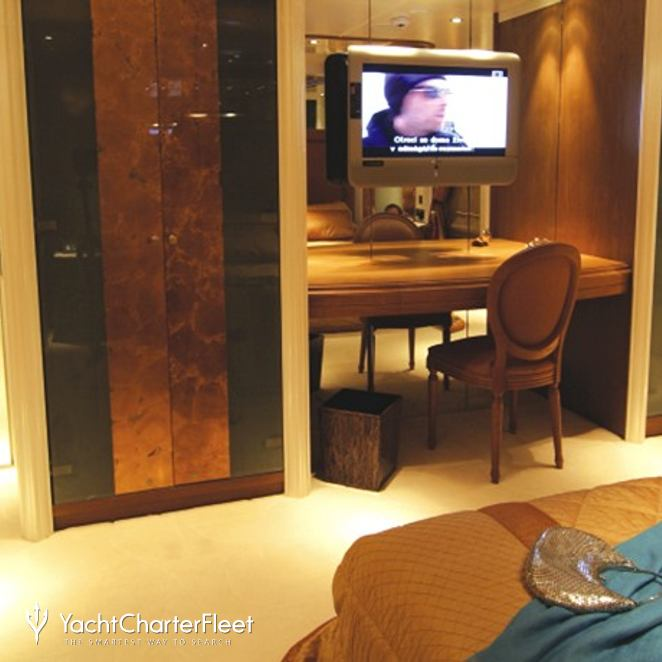 Guest Stateroom - TV