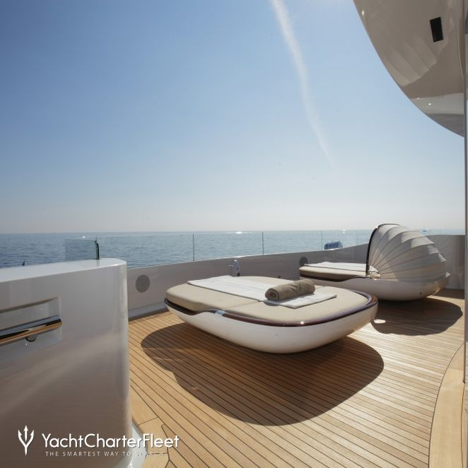 Built-In Bimini On A Sun Lounger
