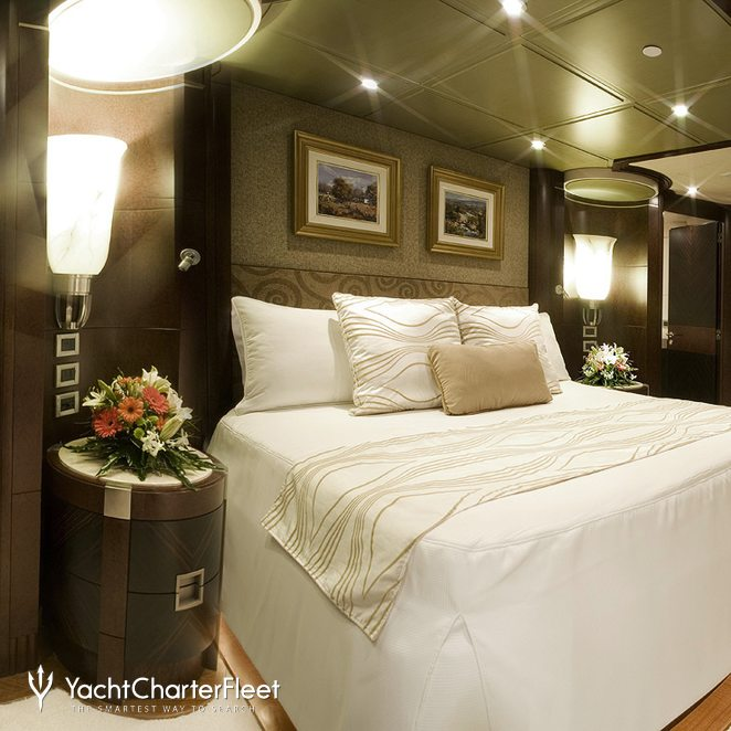 Master Stateroom with Study