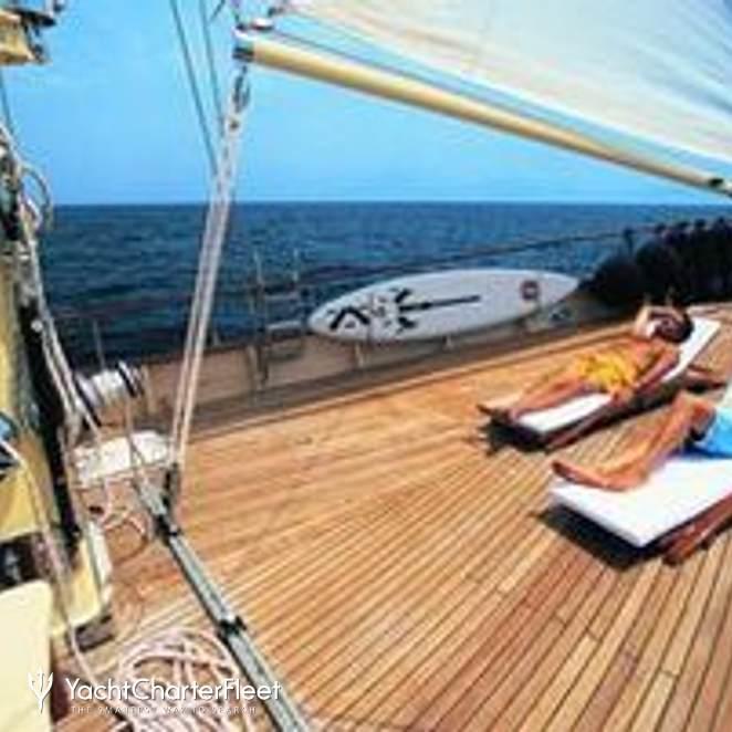 Sun Lounge on Deck